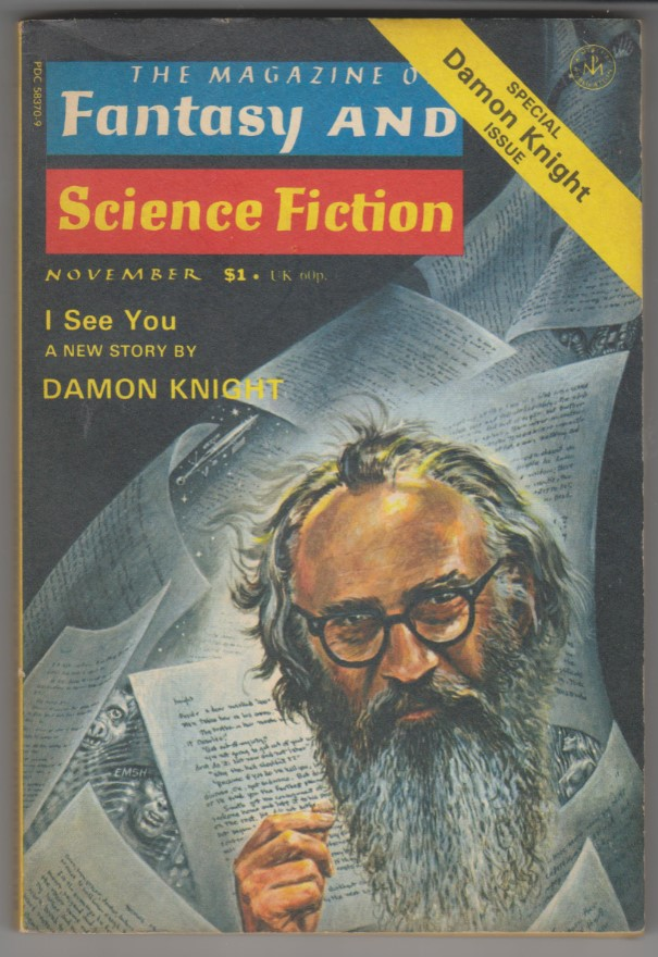 Image for Magazine of Fantasy & Science Fiction, November 1976<br>