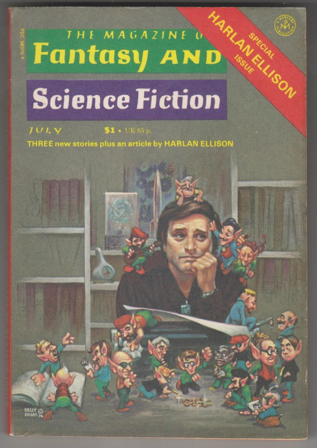 Image for Magazine of Fantasy and Science Fiction, July 1977<br>