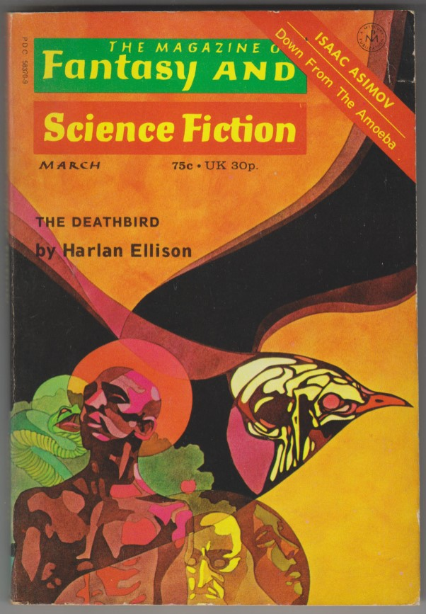 Image for Magazine of Fantasy and Science Fiction, March 1973<br>